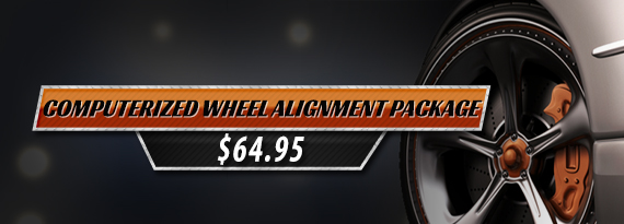 Computerized  Wheel Alignment Package